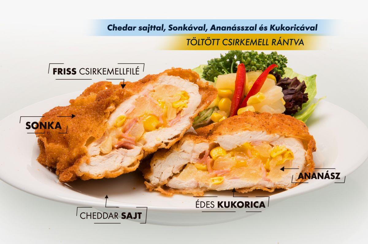 ananász csirke és joghurt diétaire